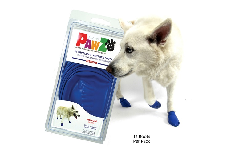 Pawz Mavi Medium Köpek Galoşu